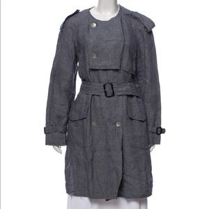 3.1 Phillip Lim Double Breasted Line Coat